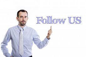 foto of follow-up  - Follow US  - JPG