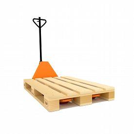 foto of hand-barrow  - Industrial Equipment Warehouse - JPG
