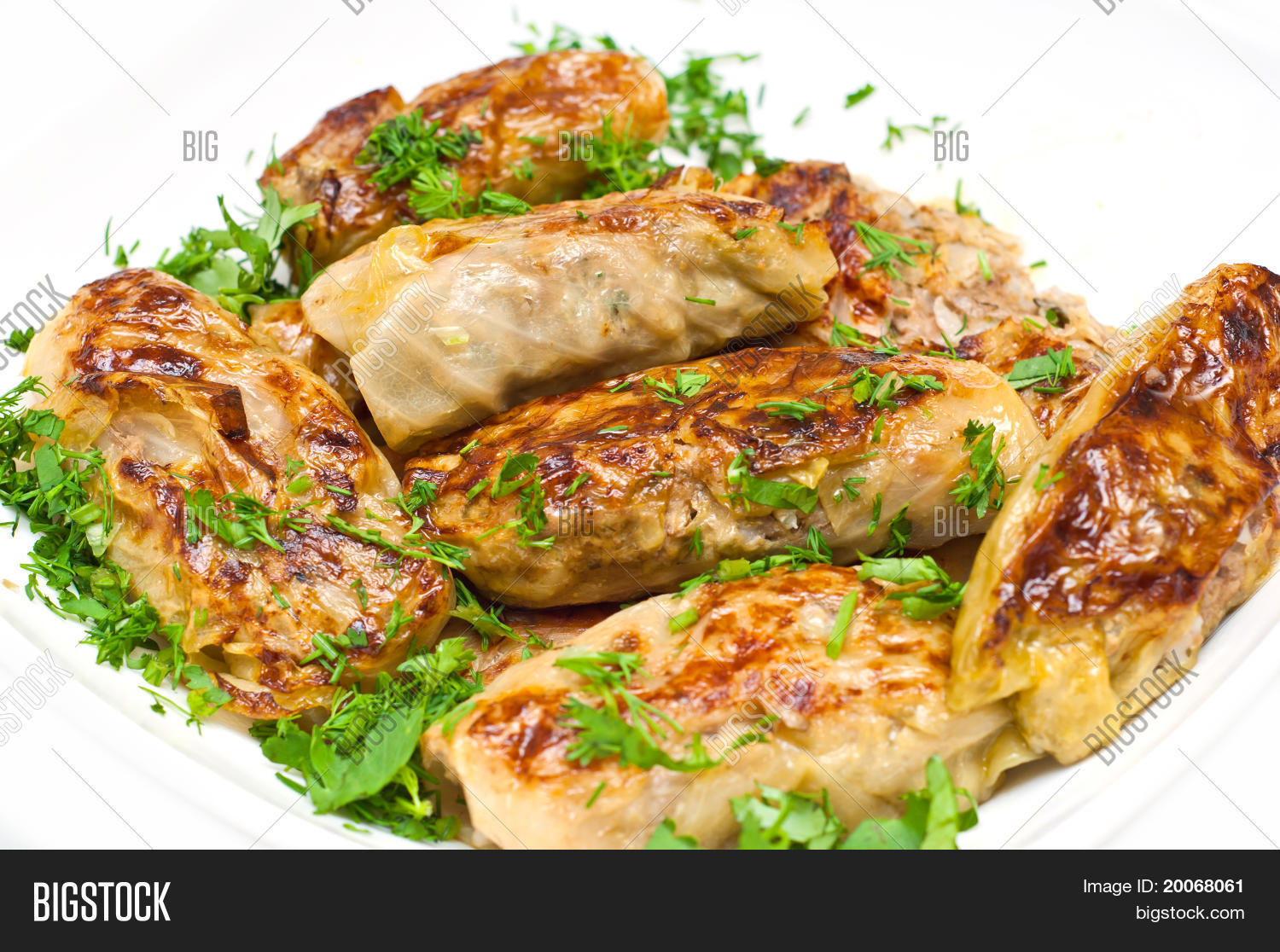 Golubci traditional russian food made from cabbage leaves for Authentic russian cuisine