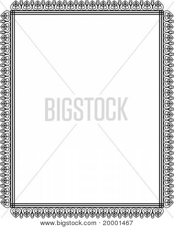 Beautiful background with lace ornaments. Vector