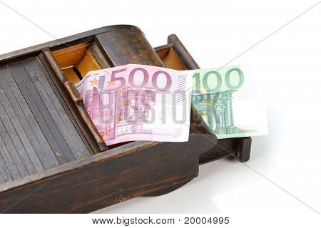 Old Box With Money