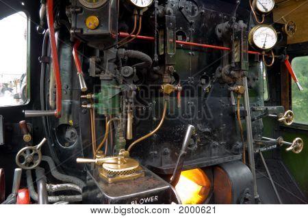 Steam Engine Footplate