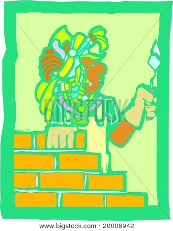 Mayan Bricklayer
