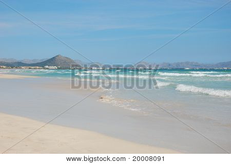 Beach of Port Pollenca