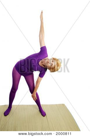 Senior Yoga - Triangle Pose