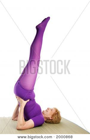 Senior Yoga - Shoulder Stand