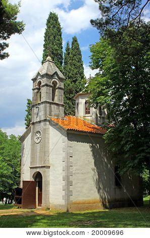 Small Church, in Podgorica, Montenegro