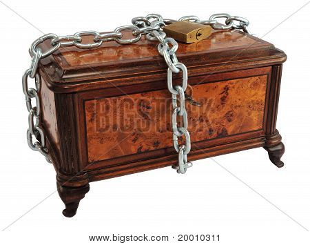 Protected Treasure Chest