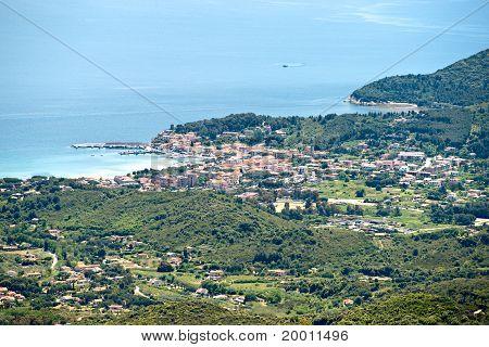 Marina Di Campo, Elba Island. Italy.