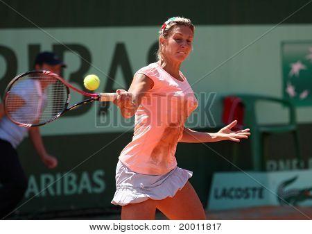 Maria Elena Camerin (ita) At Roland Garros 2011