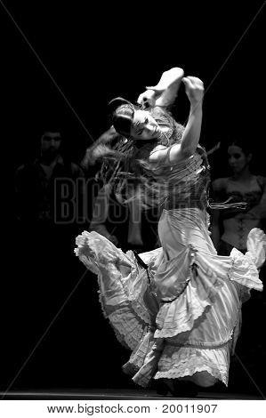 Flamenco dança dramática - carmen
