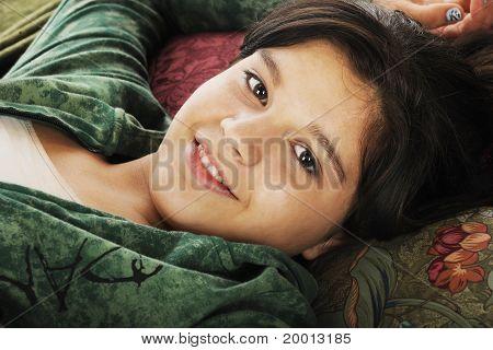 Pillowed Out Teen