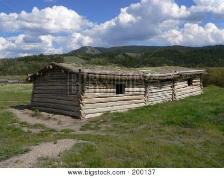 Cunningham Cabin, Flying U Ranch