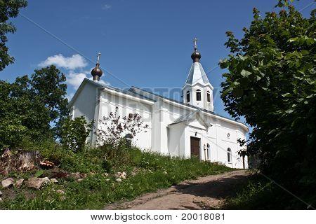 Transfiguration Church Of St. John The Theologian Monastery Cheremenetskogo