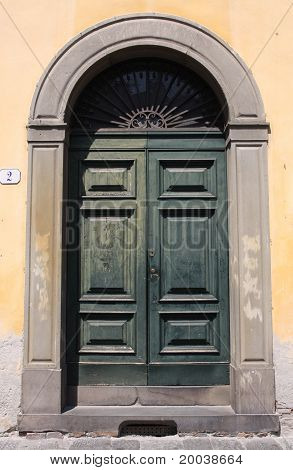 Doorway in Lucca