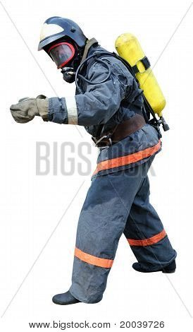 Fireman - Rescue In Breathing Apparatus