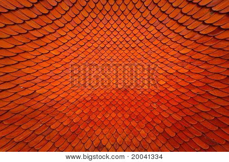 Tile Roof Texture Pattern Blast Out Wide