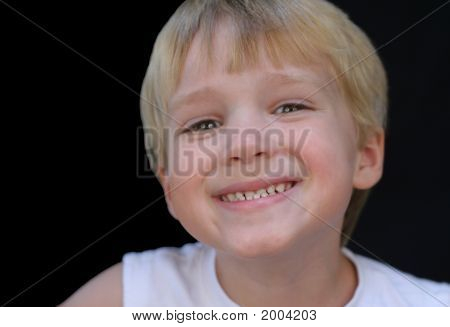 Boy With Grin