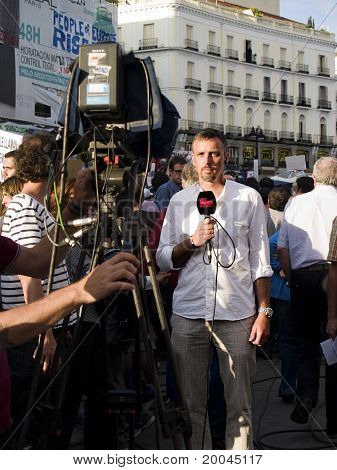 Reporting The Spanish Revolution