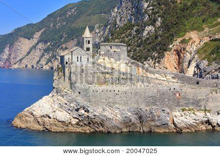 Porto Venere San Pietro Church, Liguria, Italy