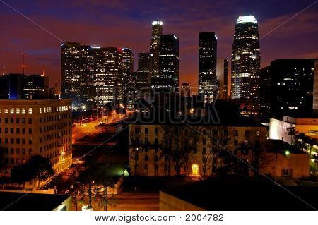 Los Angeles At Dawn