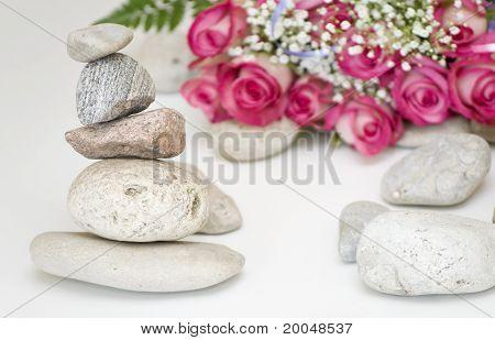 Balance And Flowers