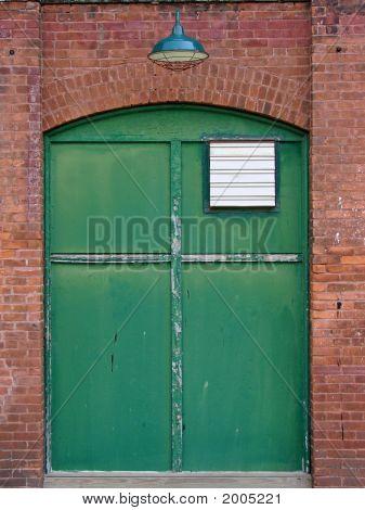 Old Mill Doorway