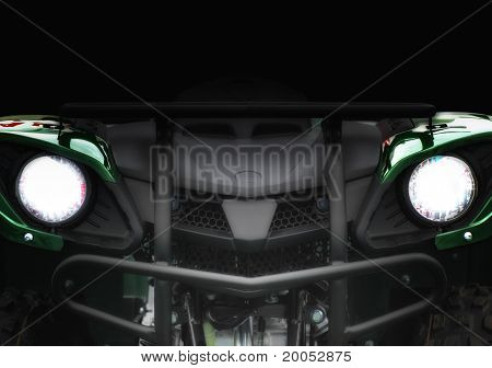 Concept Car In The Dark