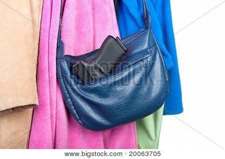 Gun Stored In Purse