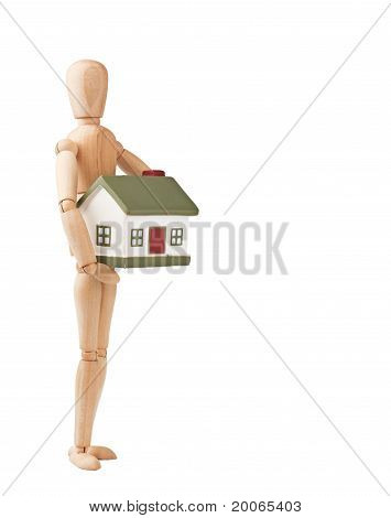 Doll and home