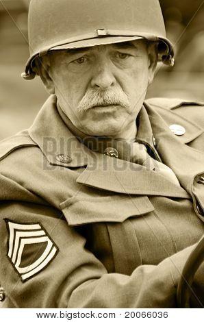 US-amerikanischer Veteran