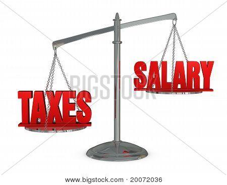 Impuestos y salarios