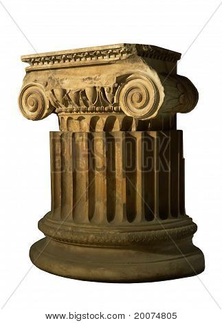 antique column