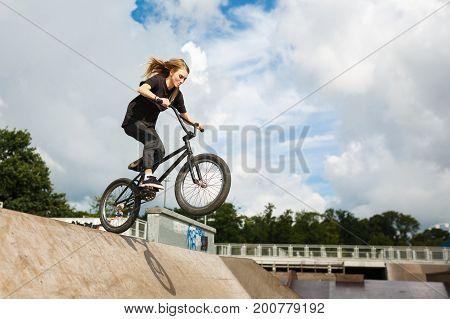 BMX rider is