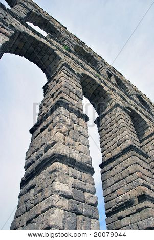 Aqueduct Of Segovia Arches