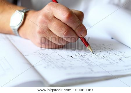 engineer makes amendments to the plan