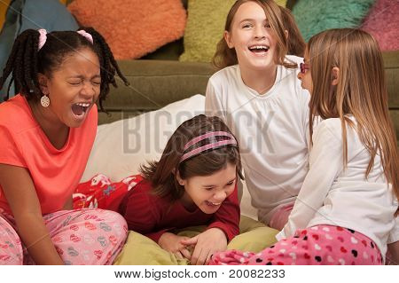 Little Girls Laugh