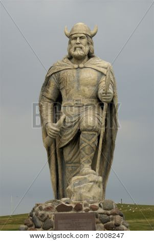 Full Viking Statute In New Iceland
