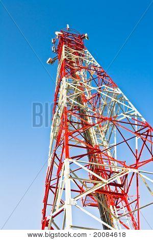 Sender und Empfänger Antenne Telekommunikation für verschiedene Zwecke