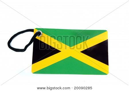Jamaica Flag Tag