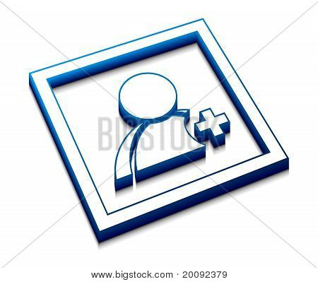 User Web Vector Icon