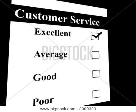 Customer Service Feed Back Form