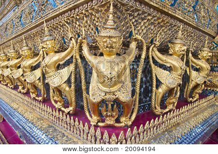 Golden Garuda decoration
