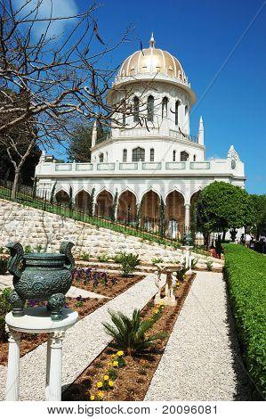 Bahai Tempel Gärten, Haifa, israel