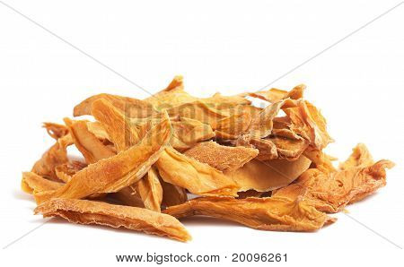 Stack Of Dried Mango Slices