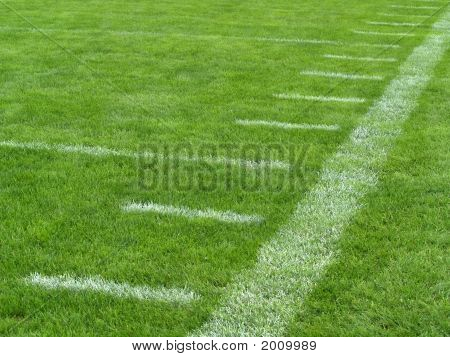 Football Sideline Yard Lines