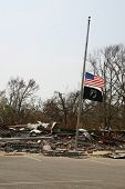 pic of katrina  - biloxi vfw post after hurricane katrina - JPG