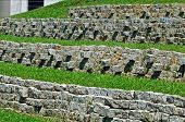stock photo of epidavros  - Portugal bench Mountain football sport recreation meadow nature - JPG