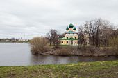 foto of uglich  - old Cathedral in the ancient town of Uglich - JPG