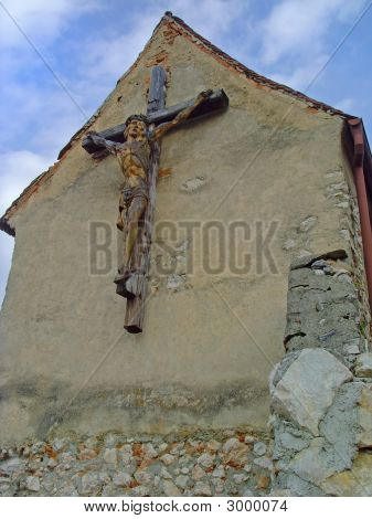 Christ Crucified On Cross